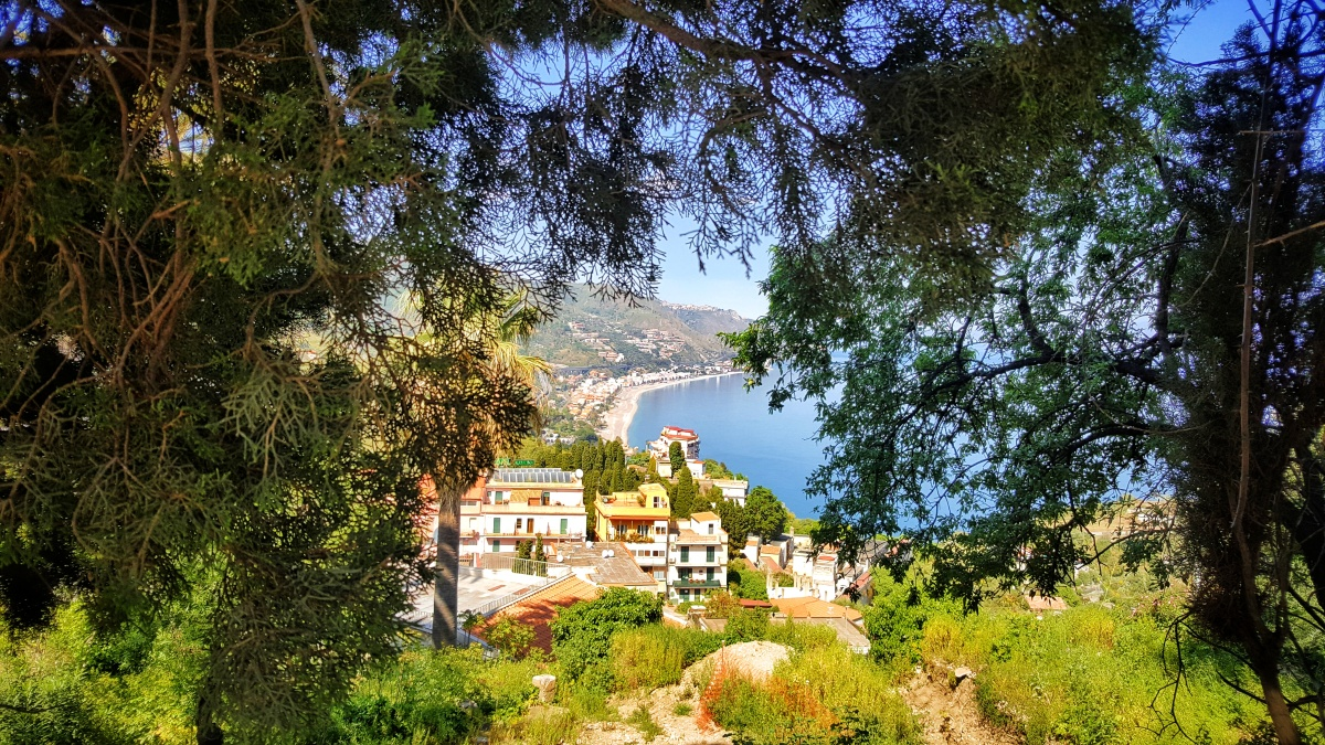 O zi în Taormina, Sicilia